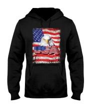 Shirt-USA FLAG-4 Hooded Sweatshirt tile