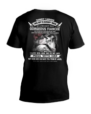LIMITED EDITION - GORGEOUS FIANCEE - HTL V-Neck T-Shirt thumbnail