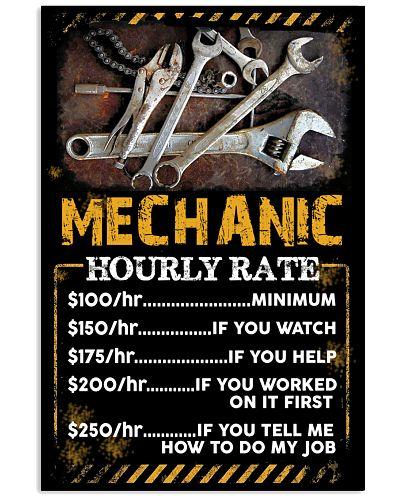 MECHANIC HOURLY RATE version