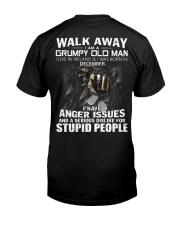 DECEMBER Classic T-Shirt back