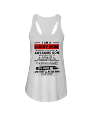 LIMITED EDITION - I AM A LUCKY MOM Ladies Flowy Tank thumbnail