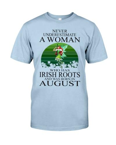 WOMAN IRISH WAS BORN IN AUGUST