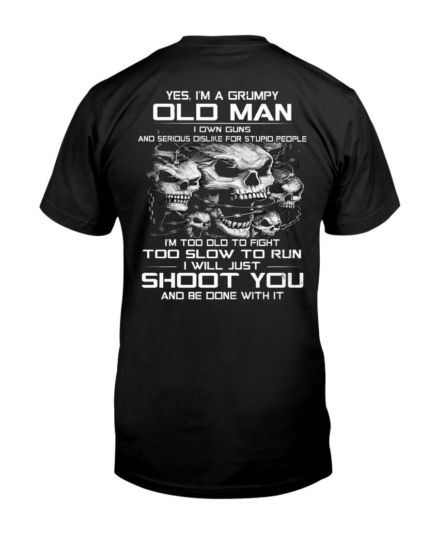 GRUMPY OLD MAN VERSION G Classic T-Shirt