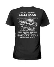 GRUMPY OLD MAN VERSION G Ladies T-Shirt thumbnail