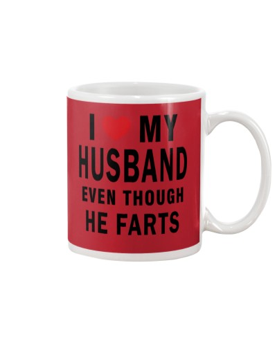 I Love My Husband Even Though He Farts