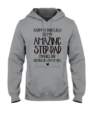STEP DAD - FATHER DAY Hooded Sweatshirt thumbnail