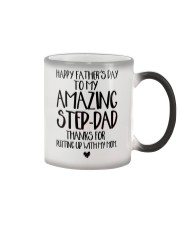 STEP DAD - FATHER DAY Color Changing Mug thumbnail