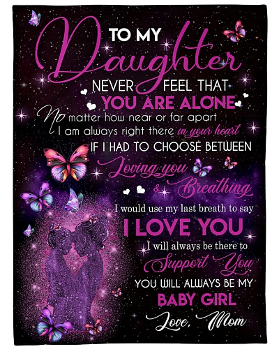 Blanket-To my Daughter