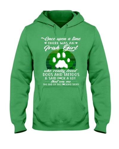 IRISH GIRL LOVES DOGS AND TATTOOS