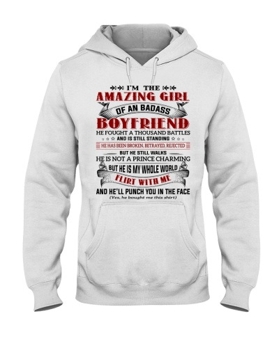 AMAZING GIRL OF BADASS BOYFRIEND - FULY