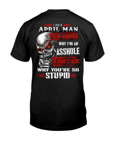 STOP ASKING - APRIL MAN