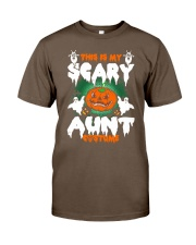 THIS IS MY SCARY COSTUME AUNT Classic T-Shirt thumbnail