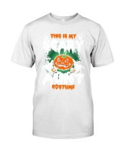 THIS IS MY SCARY COSTUME AUNT Premium Fit Mens Tee thumbnail