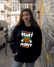 THIS IS MY SCARY COSTUME AUNT Hooded Sweatshirt lifestyle-unisex-hoodie-front-1