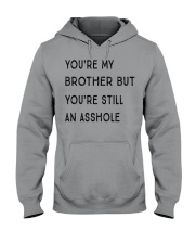 VERSION NEW - MY BROTHER Hooded Sweatshirt front