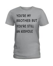VERSION NEW - MY BROTHER Ladies T-Shirt thumbnail