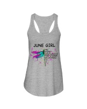 JUNE GIRL - DTS Ladies Flowy Tank thumbnail
