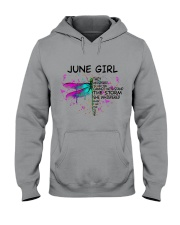 JUNE GIRL - DTS Hooded Sweatshirt tile