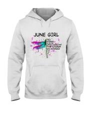 JUNE GIRL - DTS Hooded Sweatshirt front