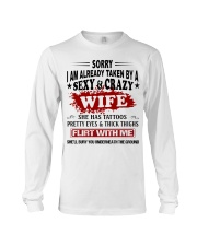 SEXY AND GRAZY WIFE Long Sleeve Tee thumbnail