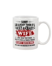 SEXY AND GRAZY WIFE Mug thumbnail