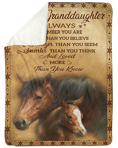 Blanket-To my granddaughter - HTV