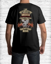 GOD BLESS AMERICA-PCC-VTR Classic T-Shirt lifestyle-mens-crewneck-back-1