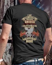 GOD BLESS AMERICA-PCC-VTR Classic T-Shirt lifestyle-mens-crewneck-back-2