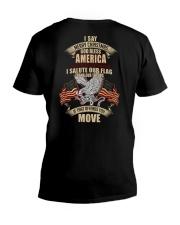 GOD BLESS AMERICA-PCC-VTR V-Neck T-Shirt thumbnail