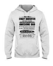 AWESOME DAD - HADN Hooded Sweatshirt front