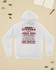 STEPDAD NEW - EXTENDED1  Hooded Sweatshirt lifestyle-unisex-hoodie-front-6
