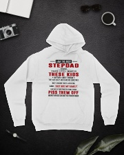 STEPDAD NEW - EXTENDED1  Hooded Sweatshirt lifestyle-unisex-hoodie-front-9