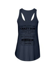 CRAZY SON - SINGLE Ladies Flowy Tank thumbnail