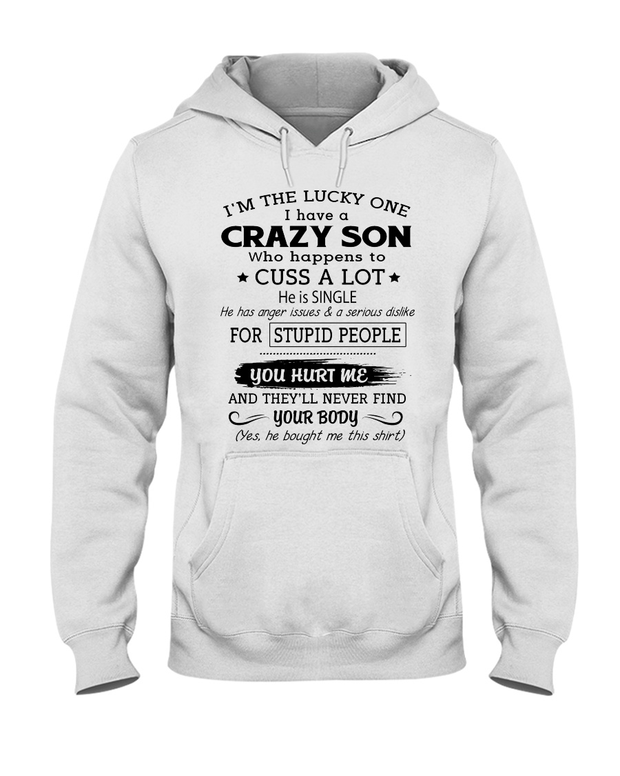 CRAZY SON - SINGLE Hooded Sweatshirt