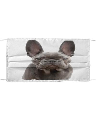 Fabric Mask bulldog