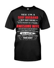 I LOVE MY HUSBAND Classic T-Shirt front