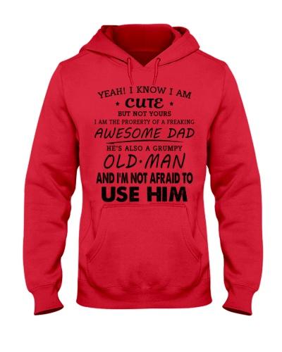 Cute version and Grumpy dad