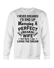 PERFECT FREAKIN WIFE Crewneck Sweatshirt thumbnail