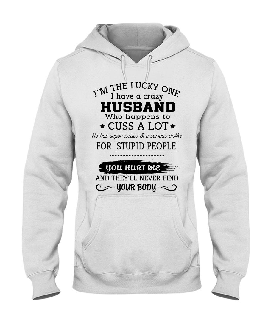 HUSBAND-WIFE - DTS Hooded Sweatshirt
