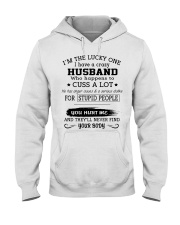 HUSBAND-WIFE - DTS Hooded Sweatshirt front