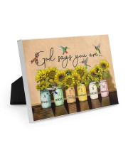 AUTISM - GOD SAYS YOU ARE - NSS Easel-Back Gallery Wrapped Canvas tile