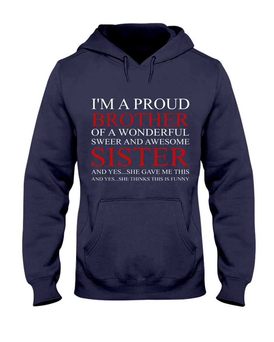 PROUND BROTHER Hooded Sweatshirt