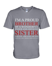 PROUND BROTHER V-Neck T-Shirt thumbnail