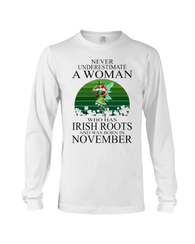 IRISH WOMAN WAS BORN IN NOVEMBER