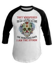 I AM THE STORM Baseball Tee tile
