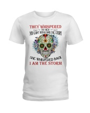 I AM THE STORM Ladies T-Shirt tile