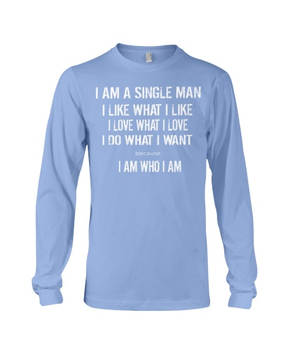I AM A SINGLE MAN - QV