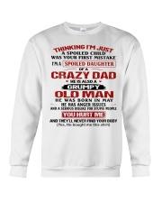 SPOILED DAUGHTER 5 Crewneck Sweatshirt thumbnail