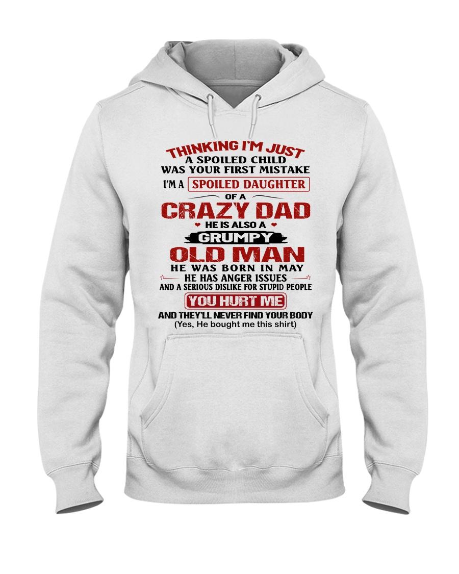 SPOILED DAUGHTER 5 Hooded Sweatshirt