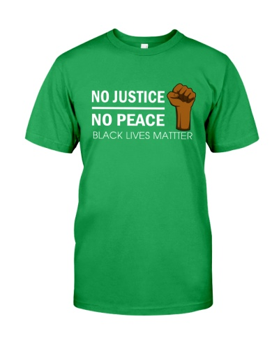 NO JUSTICE NO PEACE - NKT